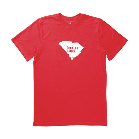 Locally Grown Clothing Co. Men's South Carolina Solid State Tee