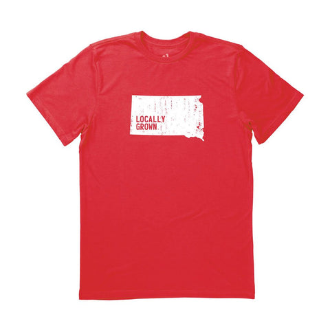 Locally Grown Clothing Co. Men's South Dakota Solid State Tee