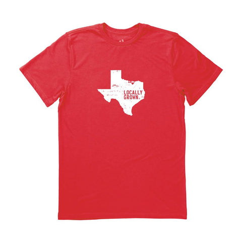 Locally Grown Clothing Co. Men's Texas Solid State Tee