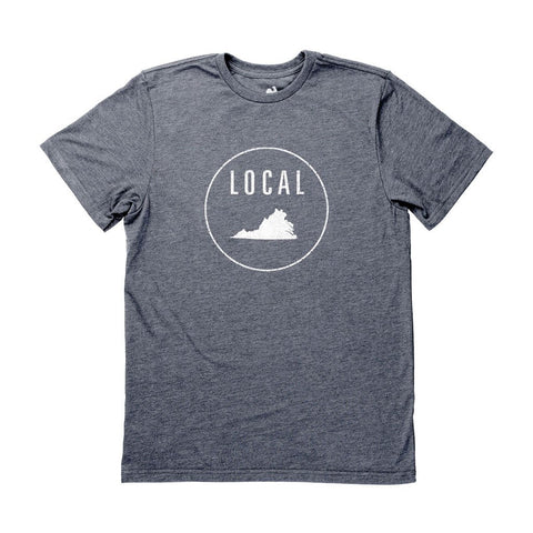 Locally Grown Clothing Co. Men's Virginia Local Tee