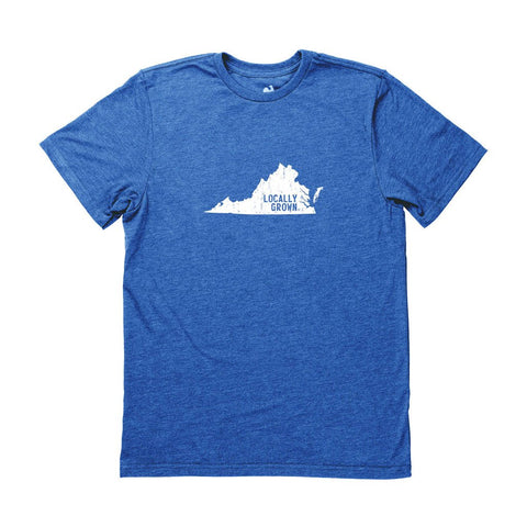 Locally Grown Clothing Co. Men's Virginia Solid State Tee
