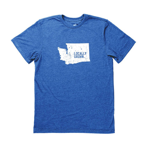 Locally Grown Clothing Co. Men's Washington Solid State Tee