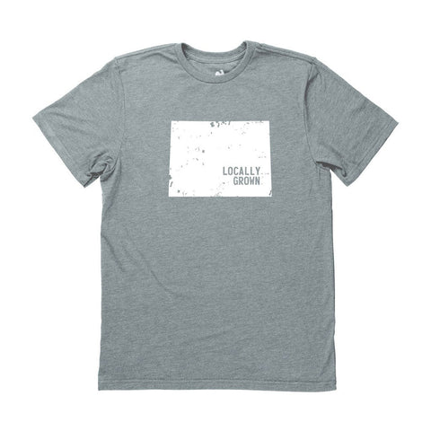 Locally Grown Clothing Co. Men's Wyoming Solid State Tee