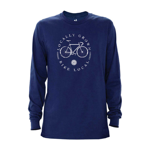 Locally Grown Clothing Co. Bike Local Long Sleeve