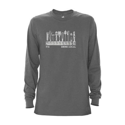 Locally Grown Clothing Co. Drink Local Long Sleeve