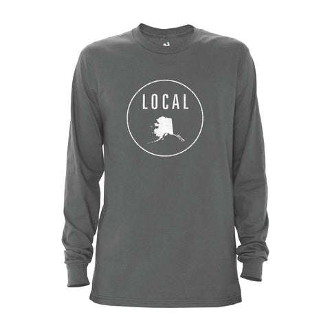 Locally Grown Clothing Co. Men's Alaska Local Long Sleeve Crew