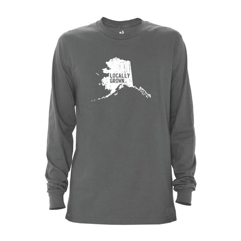 Men's Alaska Solid State Long Sleeve Crew