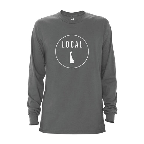 Locally Grown Clothing Co. Men's Delaware Local Long Sleeve Crew