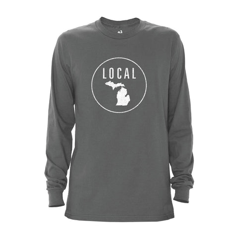 Men's Michigan Local Long Sleeve Crew