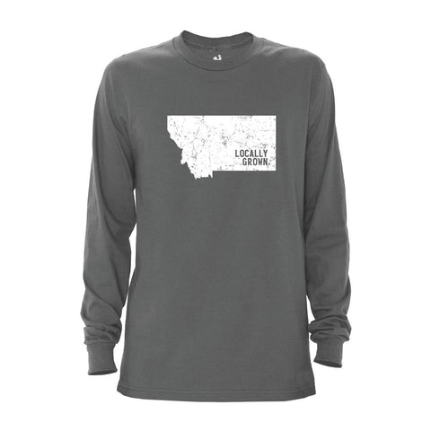 Locally Grown Clothing Co. Men's Montana Solid State Long Sleeve