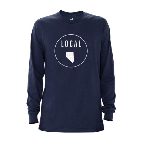 Locally Grown Clothing Co. Men's Nevada Local Long Sleeve Crew