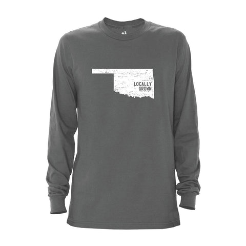 Men's Oklahoma Solid State Long Sleeve