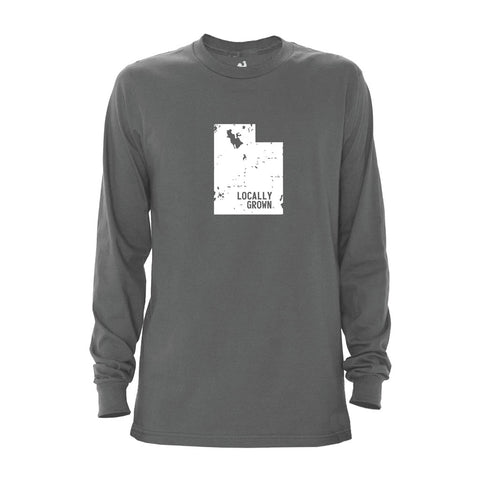 Locally Grown Clothing Co. Men's Utah Solid State Long Sleeve