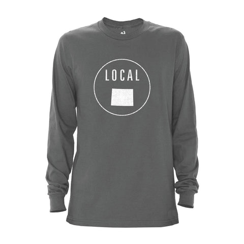 Men's Wyoming Local Long Sleeve Crew