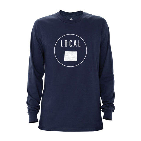 Locally Grown Clothing Co. Men's Wyoming Local Long Sleeve Crew