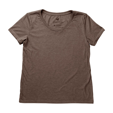 Locally Grown Clothing Co. Women's Chocolate