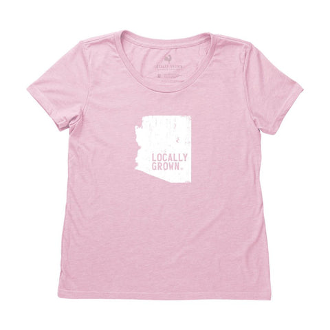 Locally Grown Clothing Co. Women's Arizona Solid State Tee