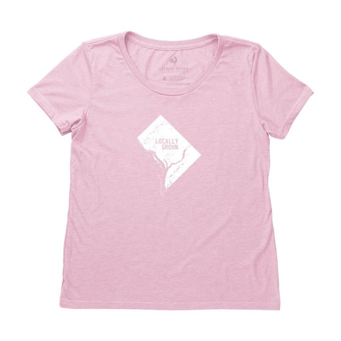 Locally Grown Clothing Co. Women's D.C. Solid State Tee