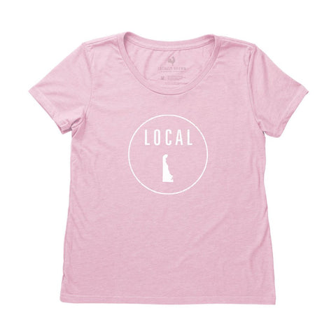 Locally Grown Clothing Co. Women's Delaware Local Tee