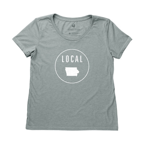 Locally Grown Clothing Co. Women's Iowa Local Tee