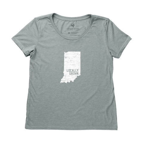 Locally Grown Clothing Co. Women's Indiana Solid State Tee