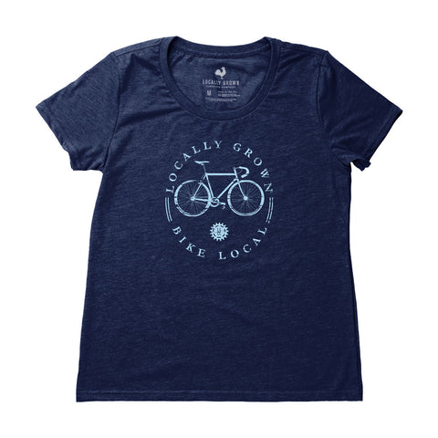 Locally Grown Clothing Co. Women's Bike Local Tee