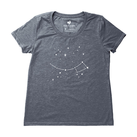 Locally Grown Clothing Co. Women's Local Night Sky Tee