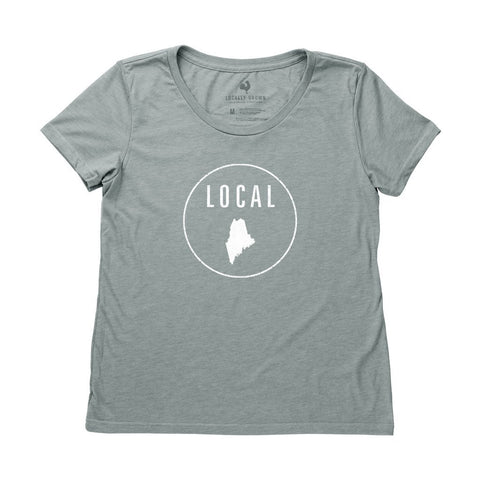 Locally Grown Clothing Co. Women's Maine Local Tee