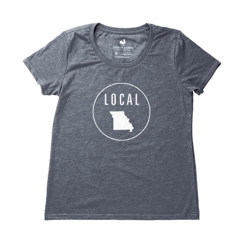 Locally Grown Clothing Co. Women's Missouri Local Tee