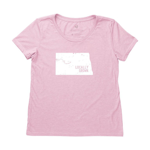 Women's North Dakota Solid State Tee