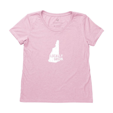 Locally Grown Clothing Co. Women's New Hampshire Solid State Tee