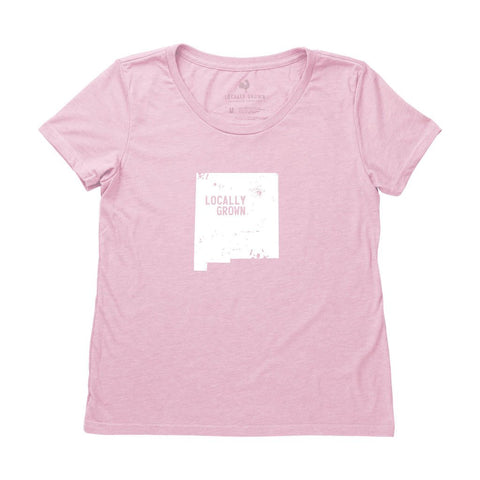 Locally Grown Clothing Co. Women's New Mexico Solid State Tee