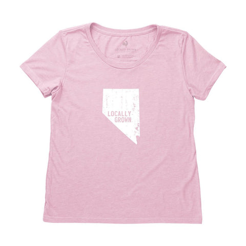 Locally Grown Clothing Co. Women's Nevada Solid State Tee