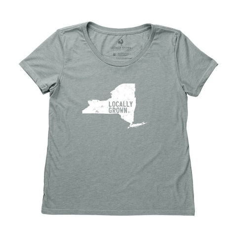 Locally Grown Clothing Co. Women's New York Solid State Tee