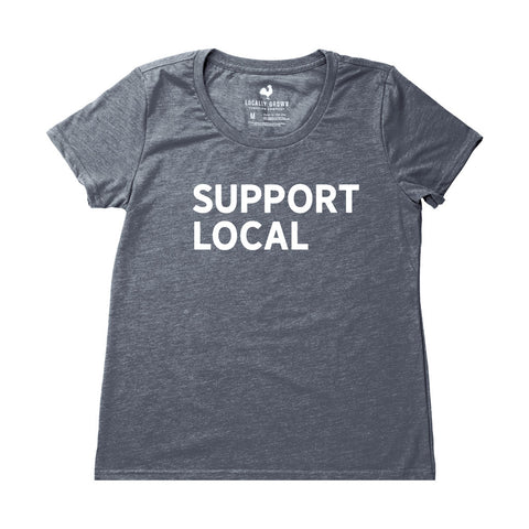 Locally Grown Clothing Co. Women's Support Local Tee