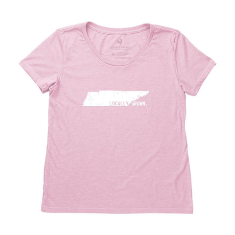 Locally Grown Clothing Co. Women's Tennessee Solid State Tee