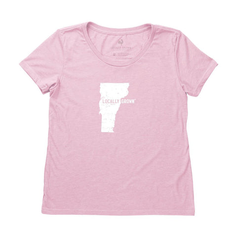 Locally Grown Clothing Co. Women's Vermont Solid State Tee