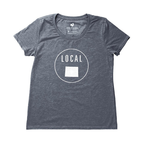 Locally Grown Clothing Co. Women's Wyoming Local Tee