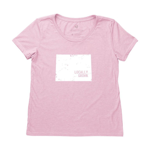 Locally Grown Clothing Co. Women's Wyoming Solid State Tee