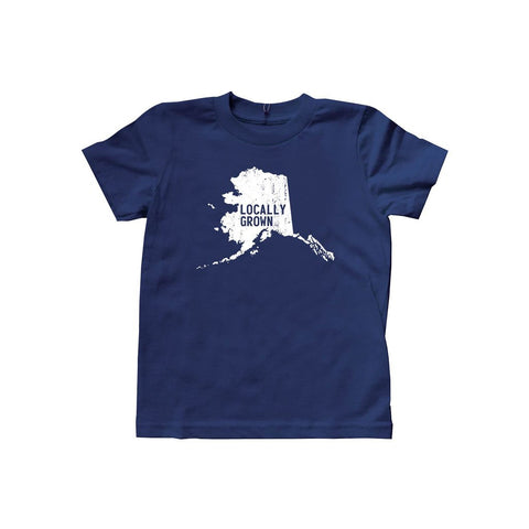 Locally Grown Clothing Co. Kids Alaska Solid State Tee