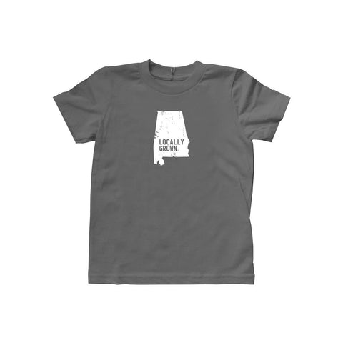 Locally Grown Clothing Co. Kids Alabama Solid State Tee
