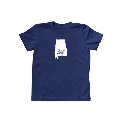 Kids Alabama Solid State Tee