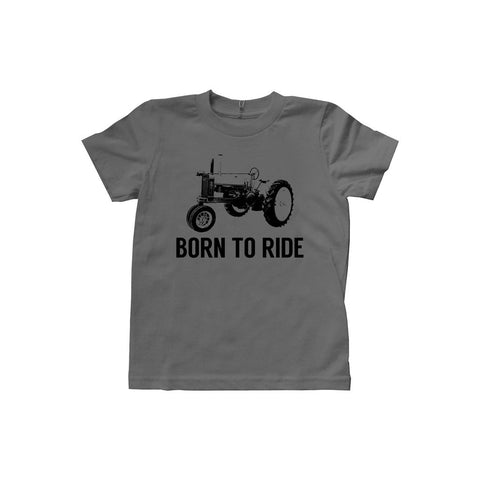 Locally Grown Clothing Co. Kids Born to Ride Tee