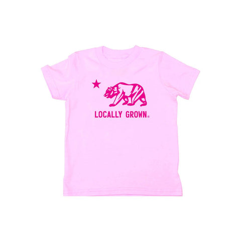 Locally Grown Clothing Co. California Bear Tee