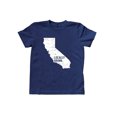 Locally Grown Clothing Co. Kids California Solid State Tee