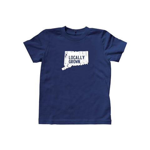 Locally Grown Clothing Co. Kids Connecticut Solid State Tee
