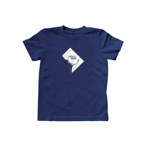 Locally Grown Clothing Co. Kids D.C. Solid State Tee