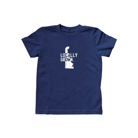 Locally Grown Clothing Co. Kids Delaware Solid State Tee