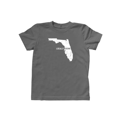 Locally Grown Clothing Co. Kids Florida Solid State Tee