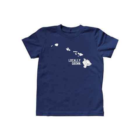 Locally Grown Clothing Co. Kids Hawaii Solid State Tee